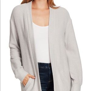 Vince Camuto Cinched Back Cozy Cardigan